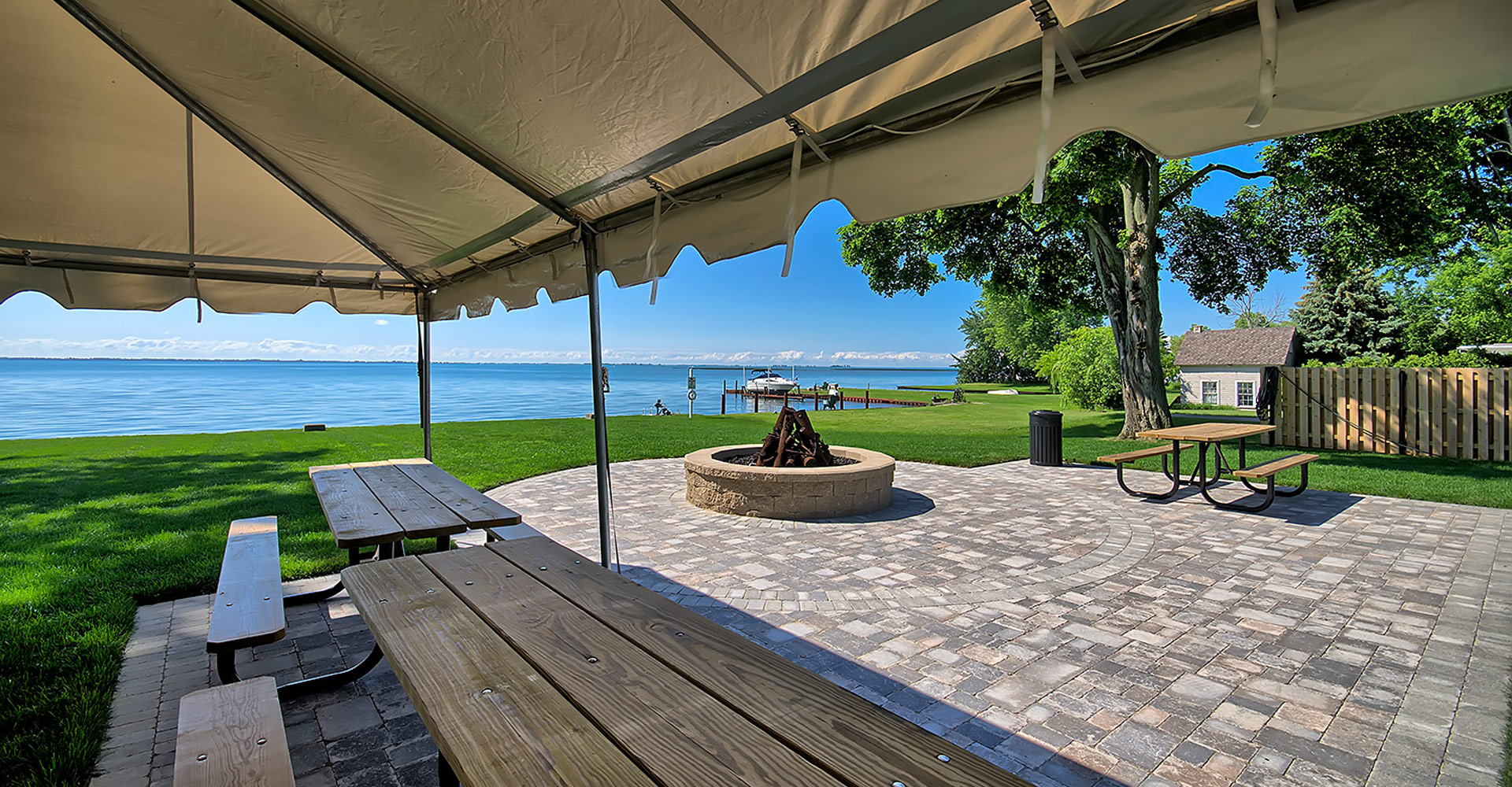 Northpointe Shores RV Resort offers beautiful views of