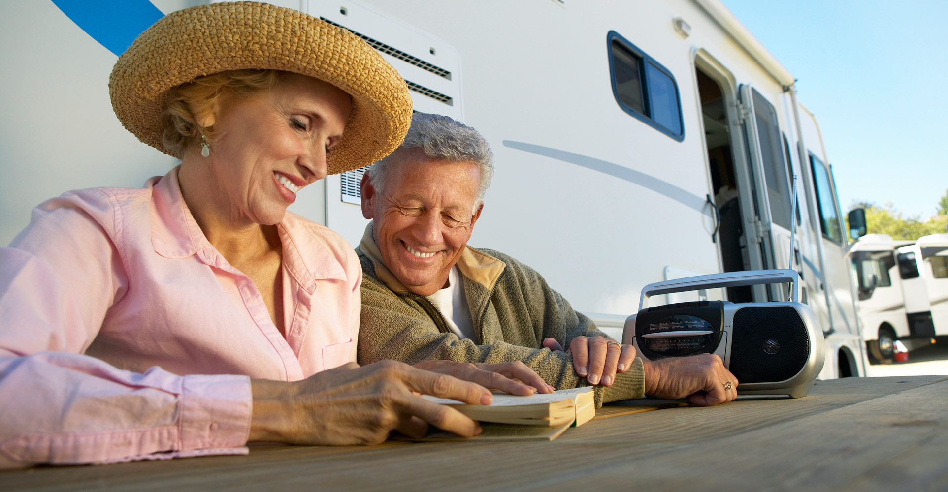 Seniors enjoy this local RV resort
